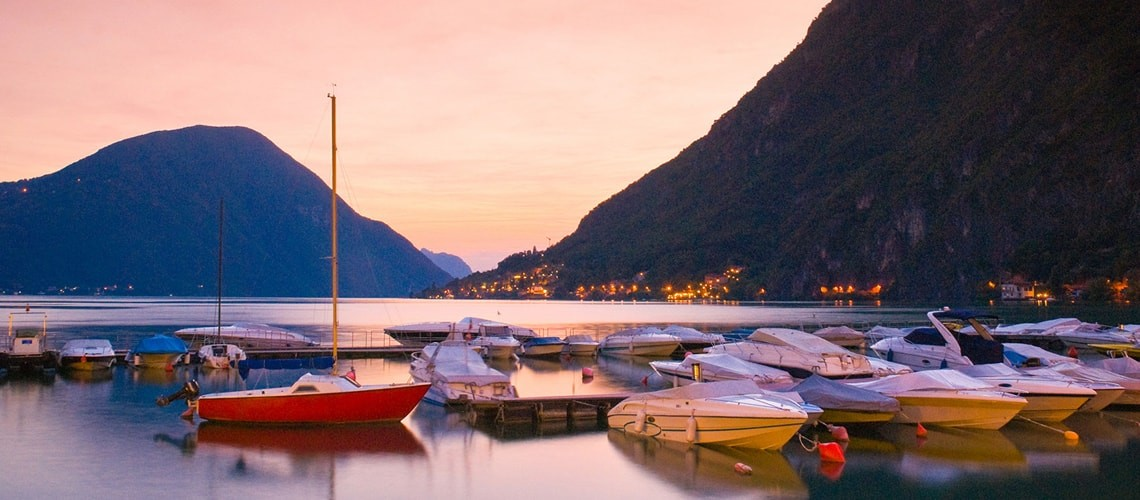 In Lugano, apartments for rent, with many services included as garage, gym, wellness area, sauna and turkish bath.