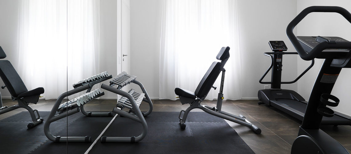 Smart Living Lugano - Serviced apartments and accomodation in Lugano - The Gym Area