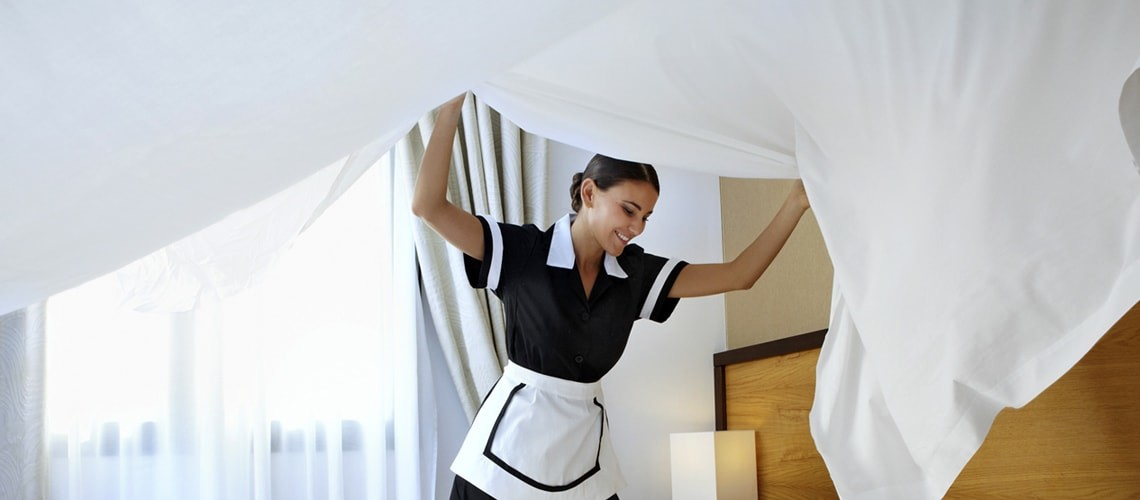 Negli appartamenti è garantito un servizio di pulizia settimanale con possibilità di richiedere una pulizia extra.