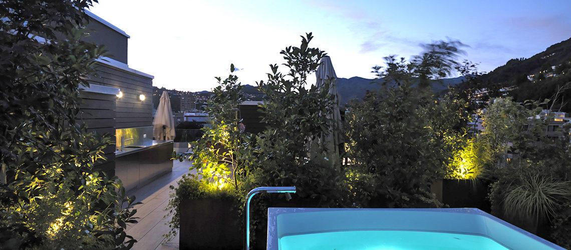 Smart Living Lugano - Appartamenti ammobiliato in affitto - La Terrazza con Piscina